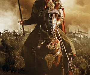 aragorn, war, and horse image