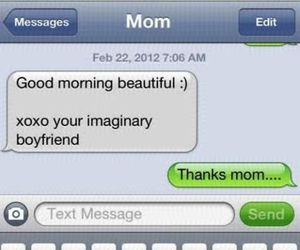 mom, funny, and text image