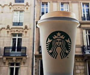 building, coffee, and france image