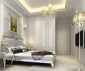 bedrooms, elegance, and elegant image