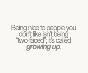 growing up, nice, and quote image