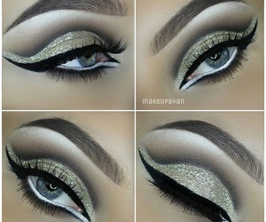 beauty, eyeshadow, and eyes image