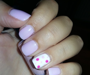 art, nails, and pink image