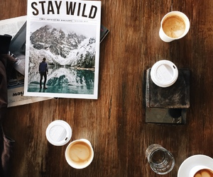coffee, magazine, and photography image