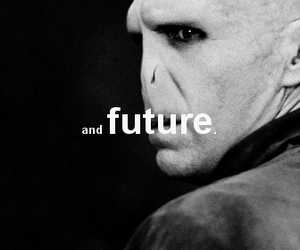 harry potter, future, and voldemort image