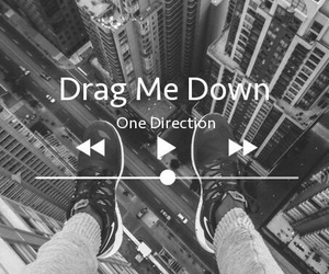 one direction, drag me down, and music image