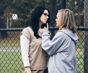 vauseman, laura prepon, and taylor schilling image