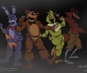 five nights at freddy's, fnaf, and fnaf bonnie image