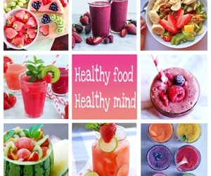 fruit, healthy food, and healthy mind image