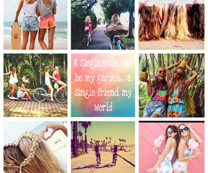 best friend, My World, and pink image