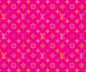 fashion, pattern, and pink image