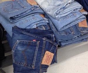 jeans, grunge, and denim image