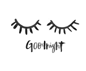 goodnight, quotes, and eyes image