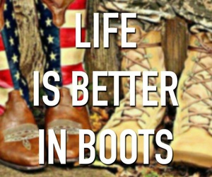 boots, cowboy, and the good life image