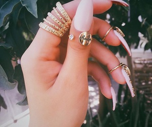 accessories, nail, and style image