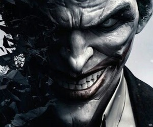 joker, batman, and smile image