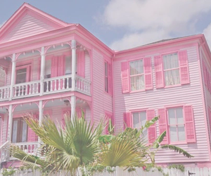 pink, house, and barbie image