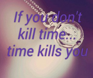quote, time, and violet image