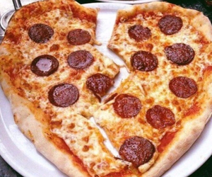 cheese, tomato, and pizza image