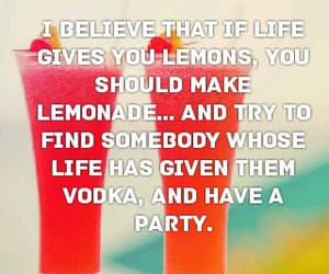 drinks, funny, and life image