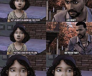 clementine and the walking dead image