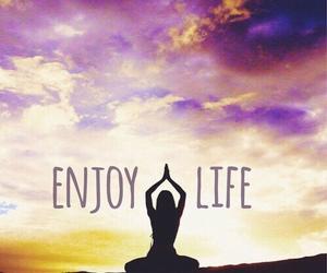 life, enjoy, and inspiration image