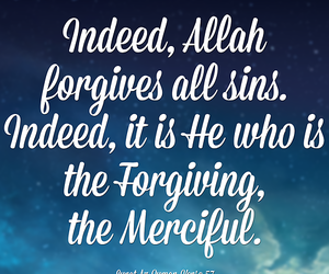 allah, islamic, and forgive image
