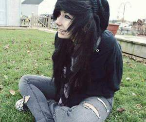 emo girl, emo, and hair image
