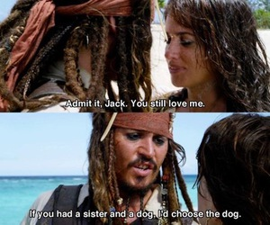 funny, jack sparrow, and johnny depp image
