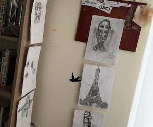 art, draw, and gallagher image