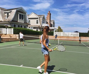 tennis, fashion, and girl image