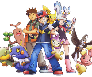 anime and pokemon image