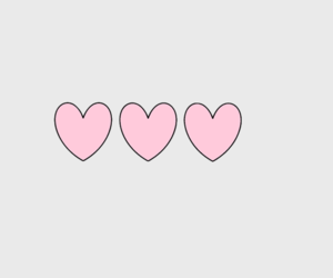 header, heart, and hearts image
