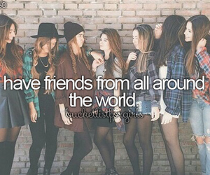 friendship, world, and friends image