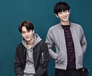 <3, Chen, and handsome image