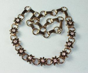 necklace, rhinestones, and vintage image