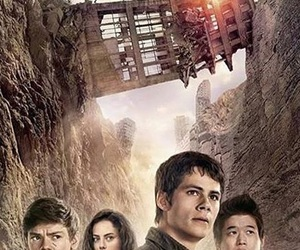 the maze runner, dylan o'brien, and newt image