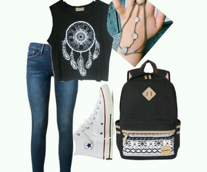 outfit and dream catcher image