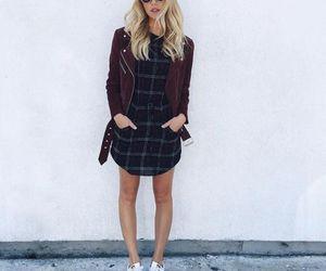 fashion, dress, and adidas image