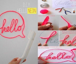 diy, hello, and idea image