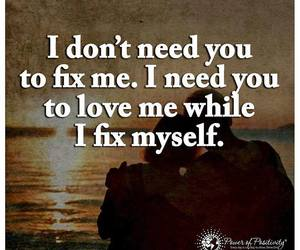 fix, true, and love image