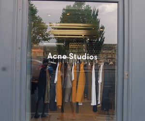 acne, brands, and clothing image