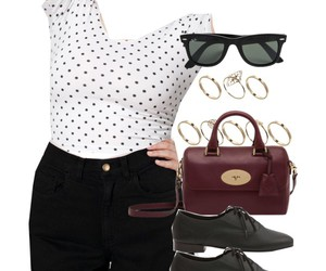 american apparel, oxfords, and polka dot image