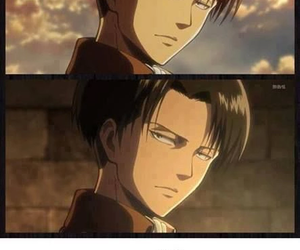 shingeki no kyojin, attack on titan, and levi image