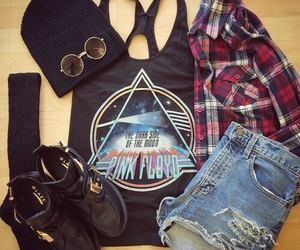 fashion, Pink Floyd, and outfit image