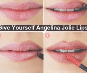 lipstick, love, and makeup image