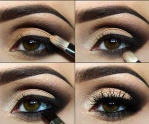 beauty, shadow, and brow image