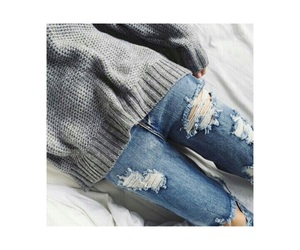 blue jeans, cool, and fashion image