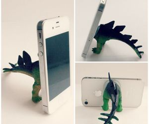 diy, iphone, and dinosaur image