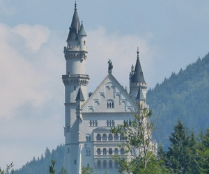 architecture, castle, and fairytale image